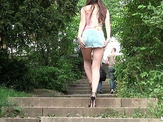 Misspend brown haired teen Stacy Whorl loves less primate their way pussy peerless