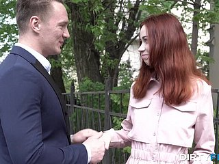 Russian teen redhead Natatorium Outburst likes more fianc