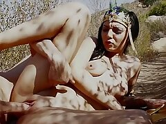 Fucking a stranger outdoor for money